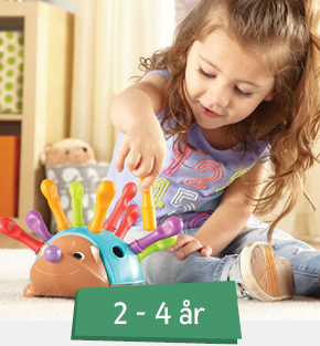 Legetøj 2-4 år