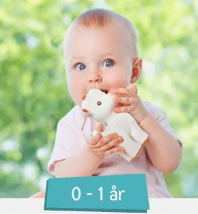 Legetøj 0-1 år