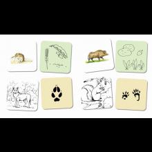 Samtalekort - Skovens dyr