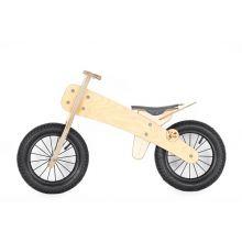 Løbecykel i træ | Dip Dap | Mellem