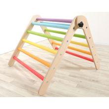 Klatretrekant - Foldbar - Regnbue