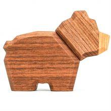 FableWood - Magnetisk trælegetøj, Lille bjørn