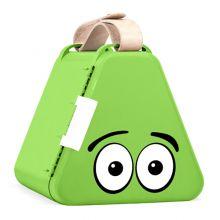 Teebee opbevaringsboks inkl. tegnegrej - Limegrøn
