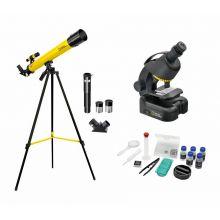 Mikroskop & Teleskop - Udvidet forskersæt