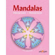 Mandalas malebog - Eventyrlige prinsesser