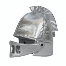 Udklædning - Ridderhjelm, sølv