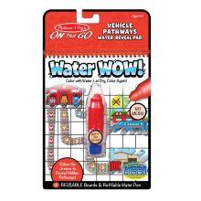 Water Wow, Find vej - Køretøjer