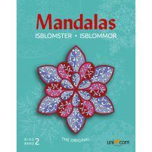 Mandalas malebog - Eventyrlige iskrystaller