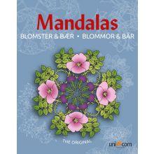 Mandalas Malebog - Blomster og bær