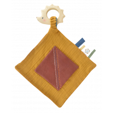 Økologisk nusseklud m. bidering - Pindsvin