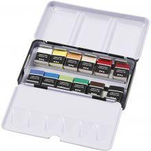 Akvarelfarver Art Aqua, 12 farver