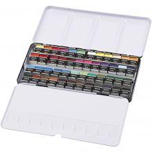 Akvarelfarver Art Aqua, 48 farver
