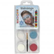 Ansigtsfarve - Snedronning