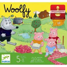 Børnespil - Woolfy og de 3 små grise
