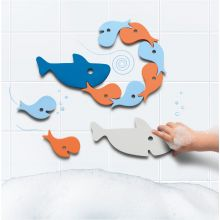 Badeleg Quutopia - Puslespil med hajer/fisk