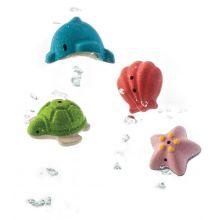 Badeleg - Sæt med havdyr