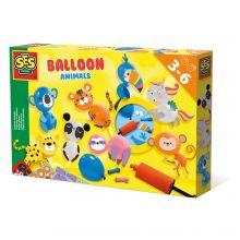 Ballonfigurer med dyr