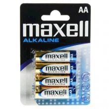 Batterier AA - 4 stk. Alkaline Maxell