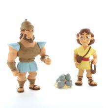 Bibelsk figursæt – David og Goliat