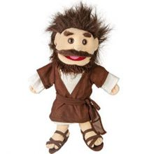 Bibelsk hånddukke 35cm - Jesus/Josef