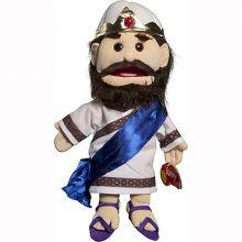 Bibelsk hånddukke 35cm - Kong David