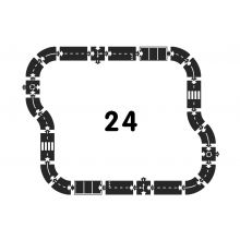 Bilbane - Motorvej, 24 dele