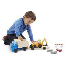 Biler i træ - Arbejdsbiler