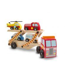 Biltransporter m. redningskøretøjer