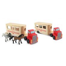 Biltransporter med heste