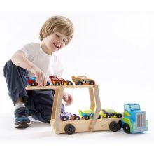 Biltransporter - Mega m. 6 racer biler