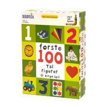 Bingospil - Første 100 tal og figurer
