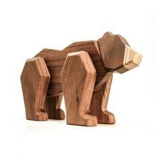 FableWood - Magnetisk trælegetøj, Bjørn