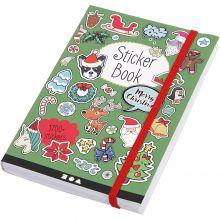 Bog med klistermærker - Jul, 1.700 stk.