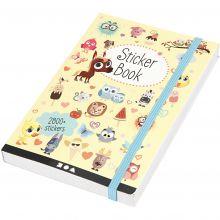 Bog med klistermærker - Diverse, 2.800 stk.