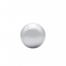 Boldbassin bolde Ø7 cm. - Sølv, 100 stk.