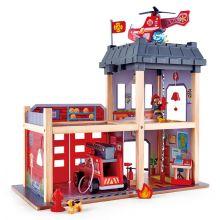 Brandstation i træ m. 13 dele