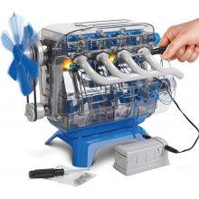 Byggesæt - Byg din egen 4 cylinder motor