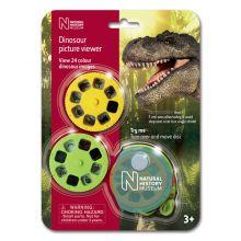 Dias med dinosaur
