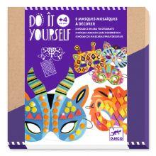 DIY masker med mosaikker - Jungledyr