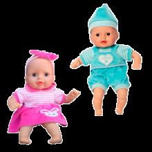 Dukke med blød krop - 30 cm