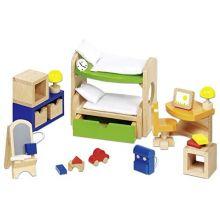 Dukkehus tilbehør - Børneværelse, moderne