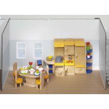 Dukkehus tilbehør - Køkken, moderne