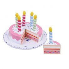 Fødselsdagslagkage i træ - 13 dele