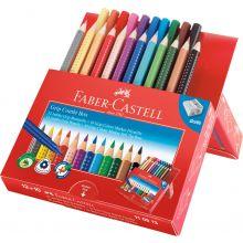 Faber Castell Farveblyanter & Tusser, 12+10