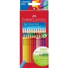 Faber Castell Farveblyanter Grip 24 stk