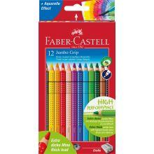 Faber Castell Farveblyanter Jumbo Grip 12 stk