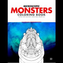 Farvelægningsbog - Mikroskopiske monstre