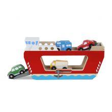 Færge inkl. 4 køretøjer