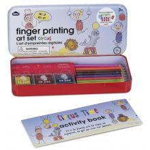 Fingeraftryks-kreasæt - Cirkus