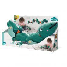 Finmotorisk krokodille - Lær lukninger